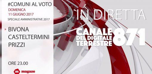 Spot Tv #comunialvoto lo Speciale Amministrative 2017